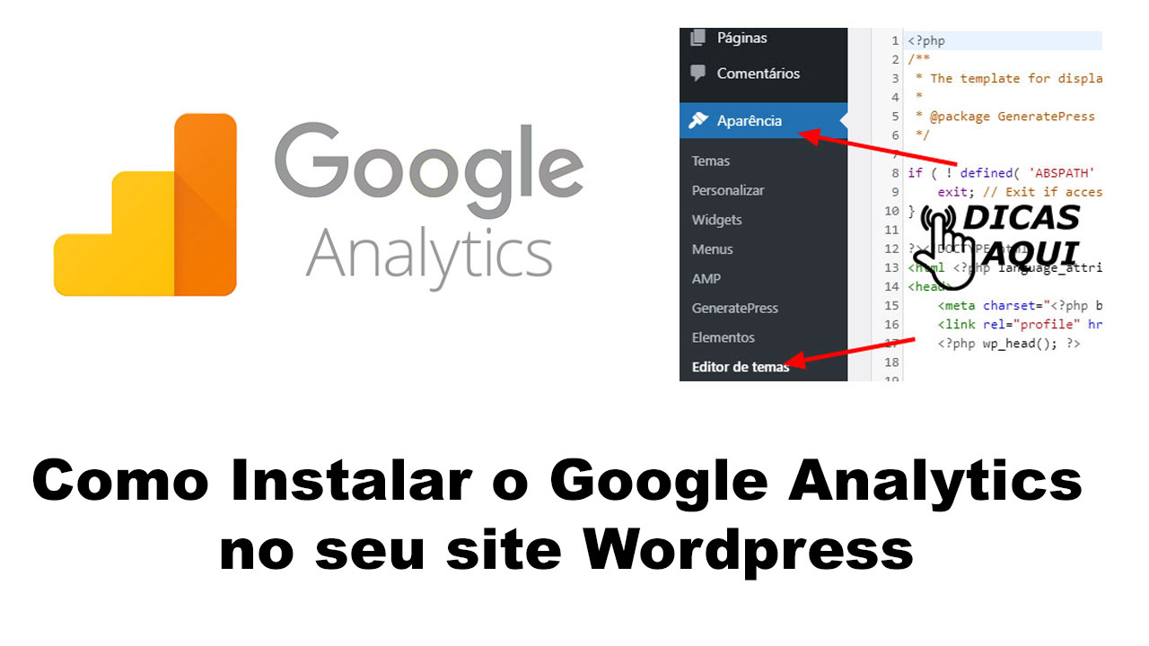 Como Instalar o Google Analytics no seu site Wordpress